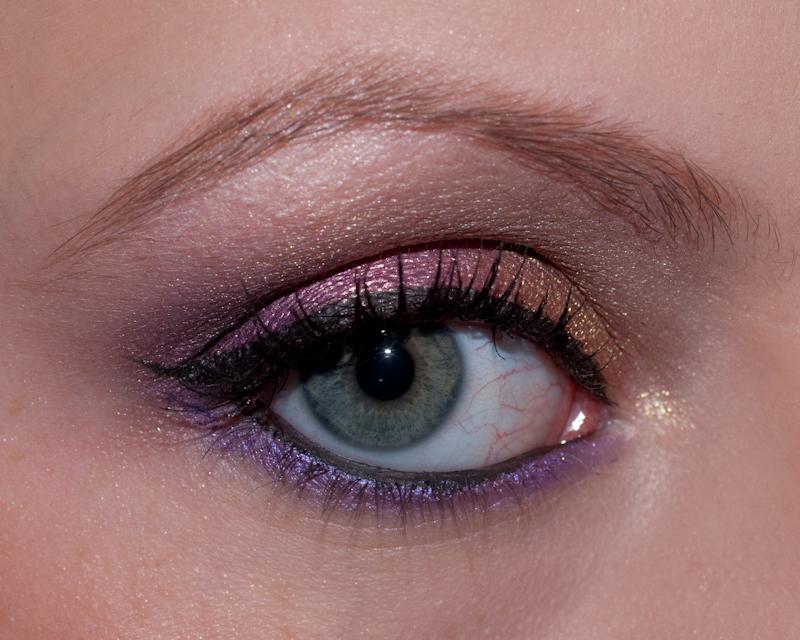"""Un look """"arabic"""" fortement coloré et réalisé tout en pigments!"""