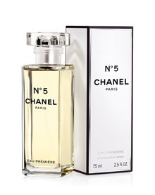 <center><b>Chanel</b> N°5 Eau Première - 62€</center>